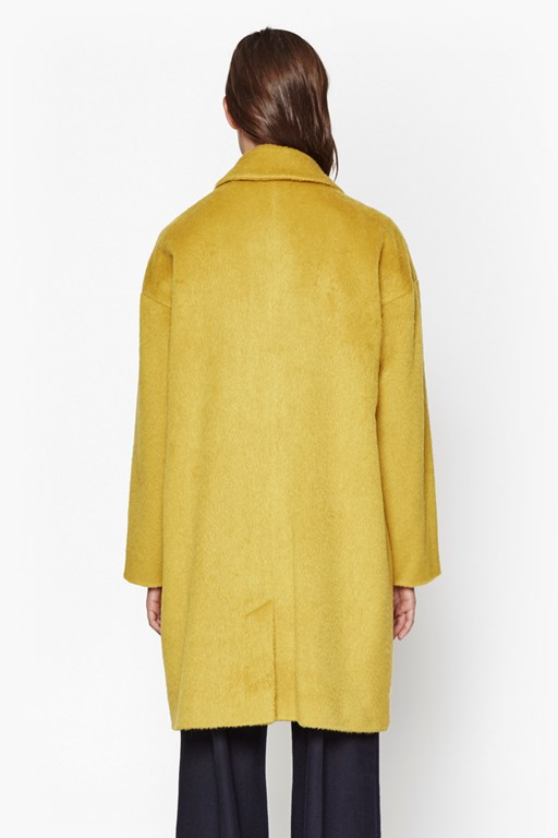 Complete the Look Kitty Cocoon Oversized Coat