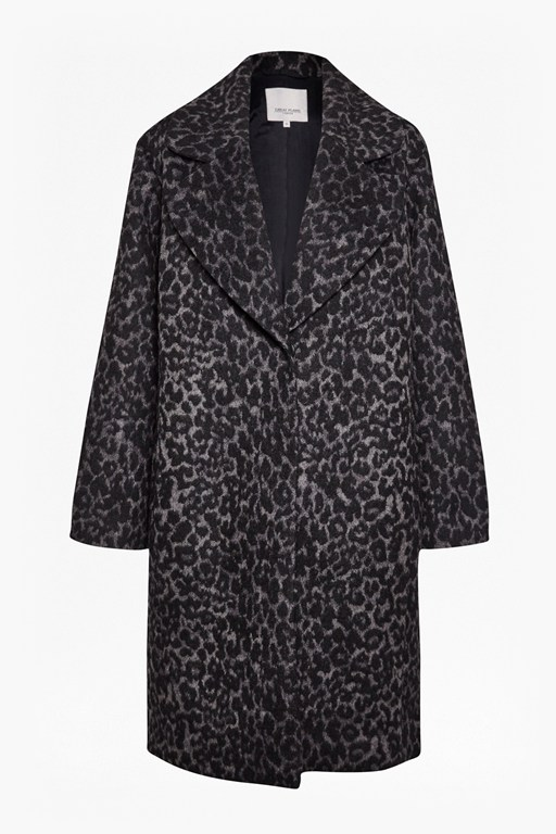 Complete the Look Winter Panther Wool Coat