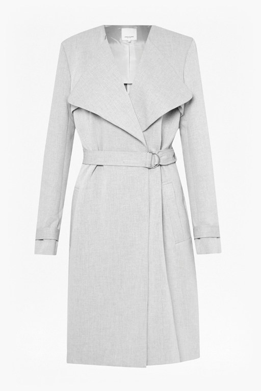 Complete the Look Claudie Suiting Trench Coat
