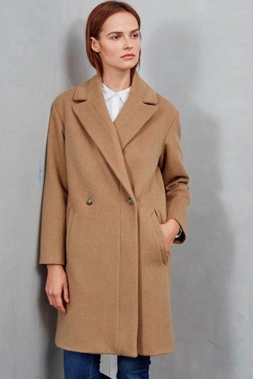 blenheim wide revere collar coat