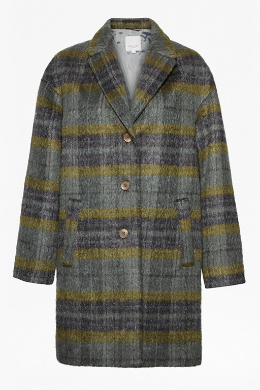 Complete the Look Mercury Checked Coat