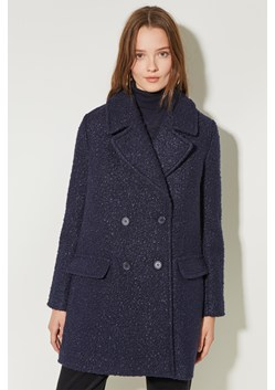 Boucle Double Breasted Coat