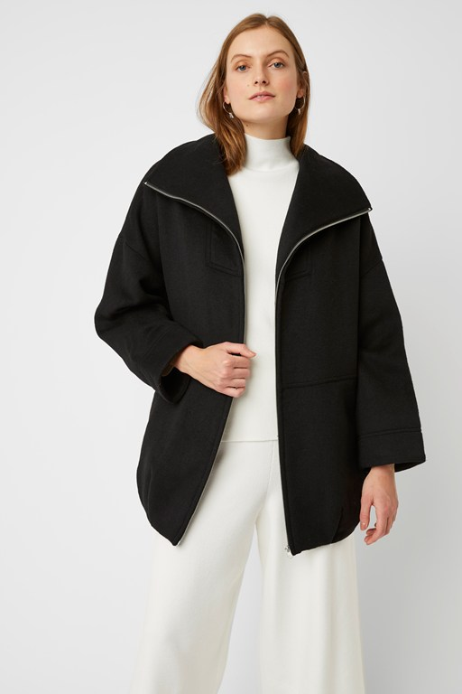 jesi long sleeve coat