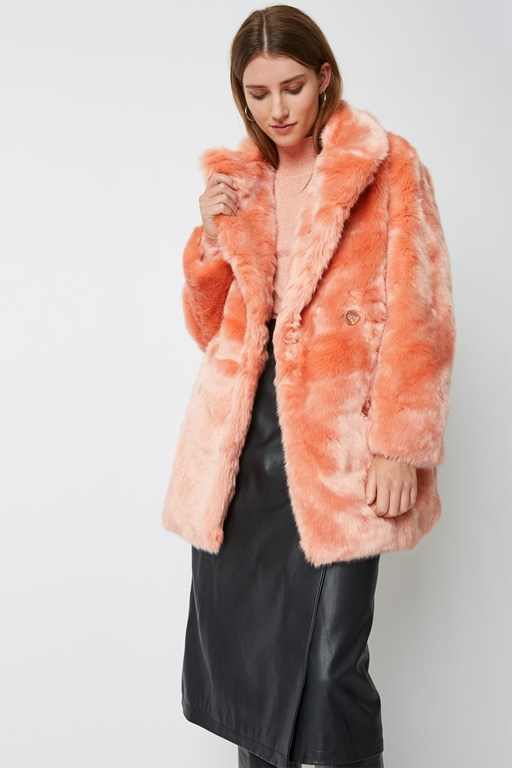 phoenix faux fur coat
