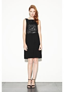 Colette Sequins Shift Dress