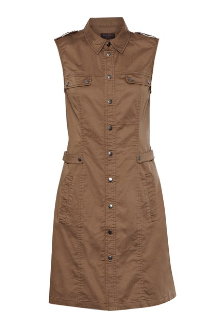 Pevensey Cotton Stud Dress