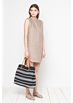 Seahouses Linen Tunic Dress