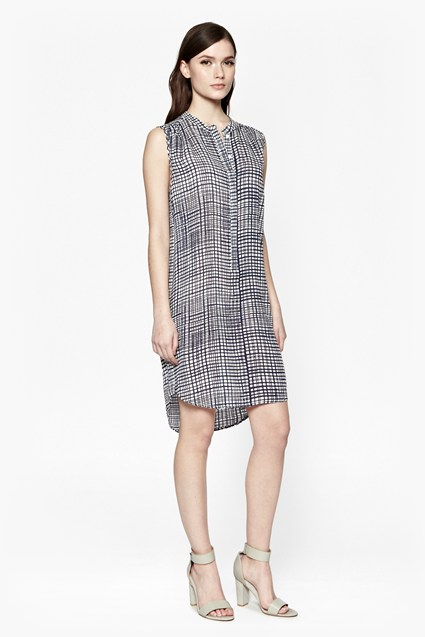Yoyo Check Tunic Dress