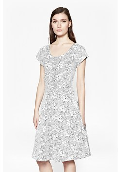 Trellis Jacquard Skater Dress