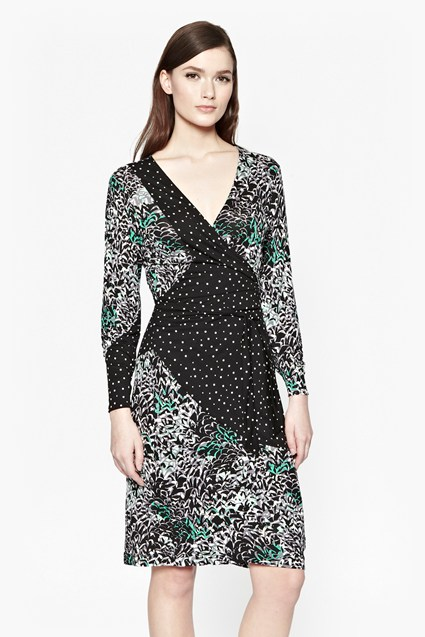 Happy Days Wrap Dress