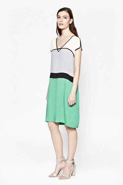 Tonino Colour Block Dress
