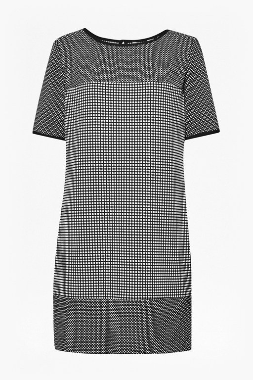 Complete the Look Polka Polka Print Dress