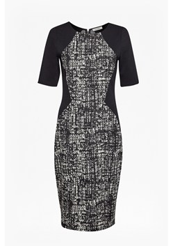 City Scribble Pencil Dress