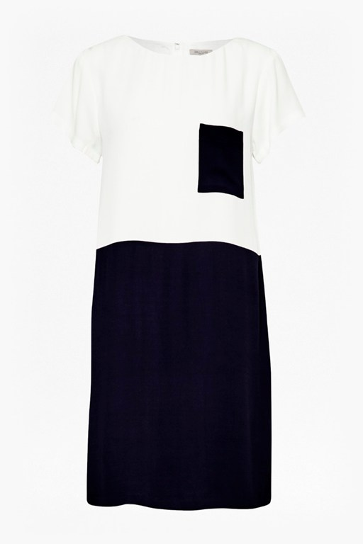 city block smock dress