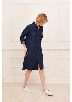 Lightweight Denim Shirt Dress
