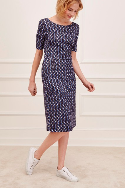 Seville Stretch Knee Skimming Dress