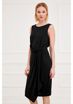 Coolio Cupro Drape Dress