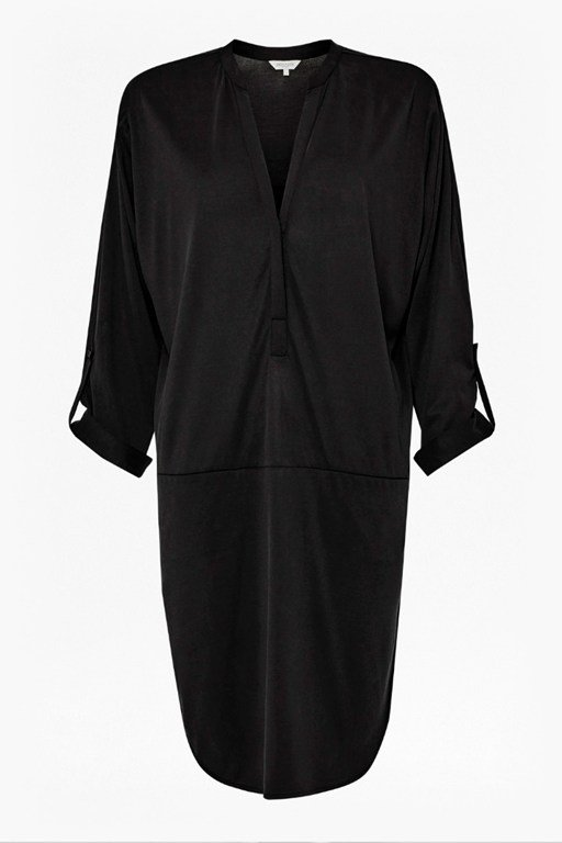 Complete the Look Coolio Cupro Shirt Dress