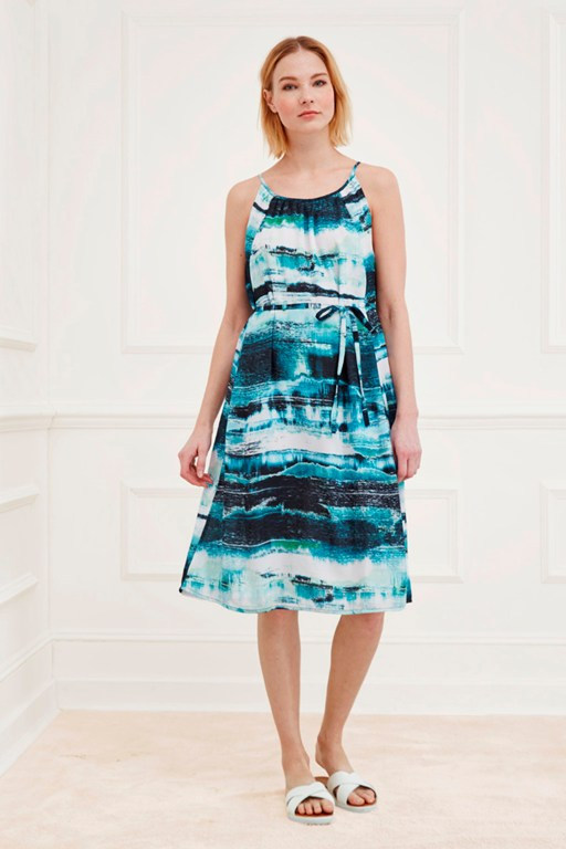 zambezi pleated dress