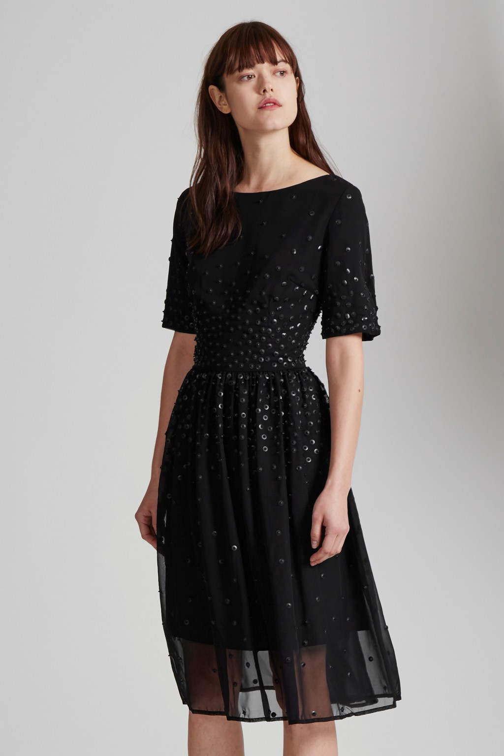 Womens Dolly Sequins Embellished Dress Great Plains Cheap Reliable Low Cost Cheap Price Outlet Ww5mDd