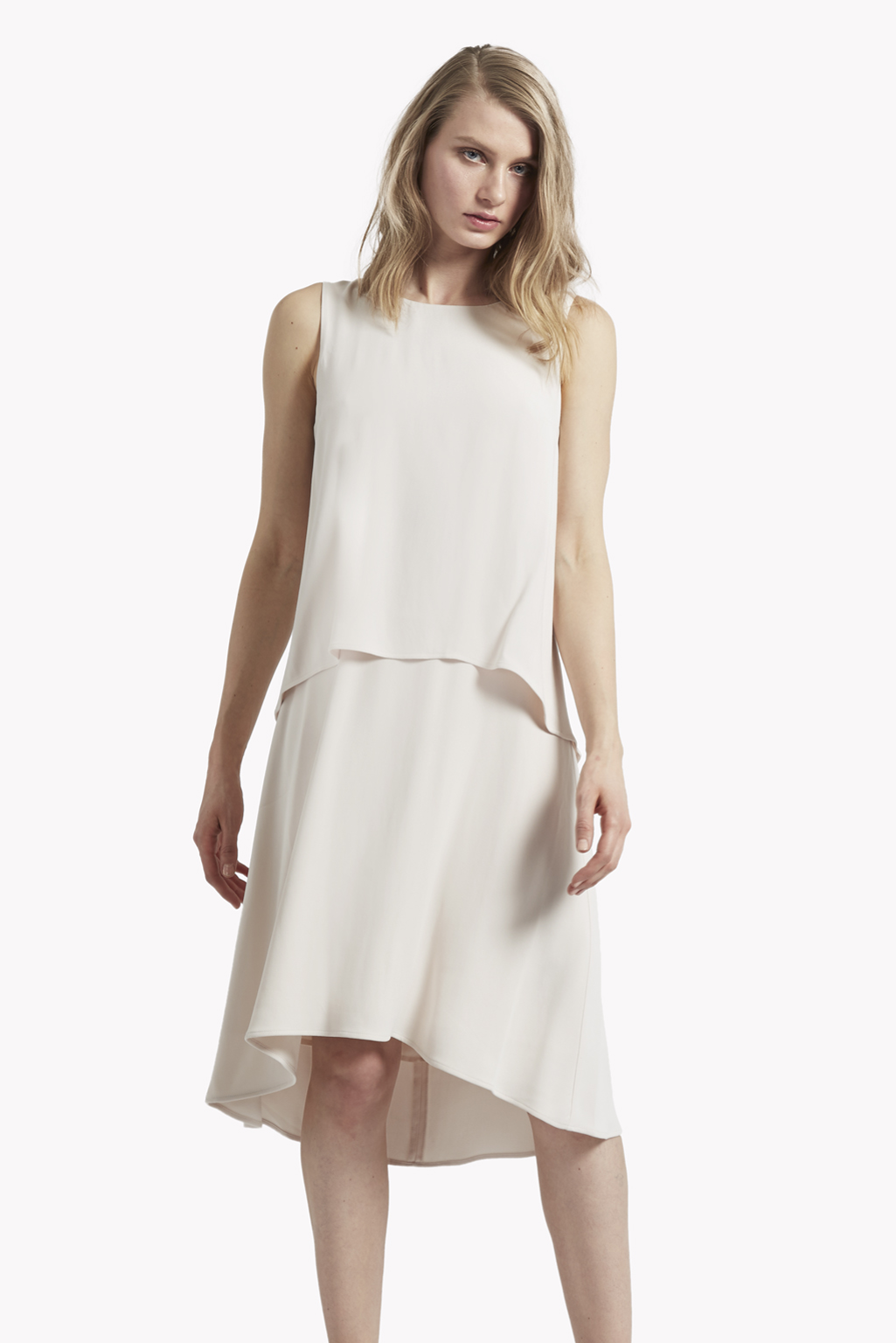 Quality From China Cheap Clearance Really Womens Megan Crepe Double Layer Dress Great Plains Cheap Low Shipping Fee Discount Cheapest Good Selling Cheap Online 8OOZORzs