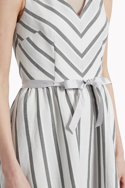 Complete the Look Sofia Stripe Flared Dress