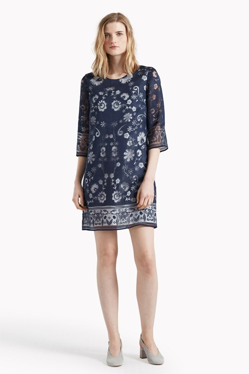 Ferne Burnout Tunic Dress