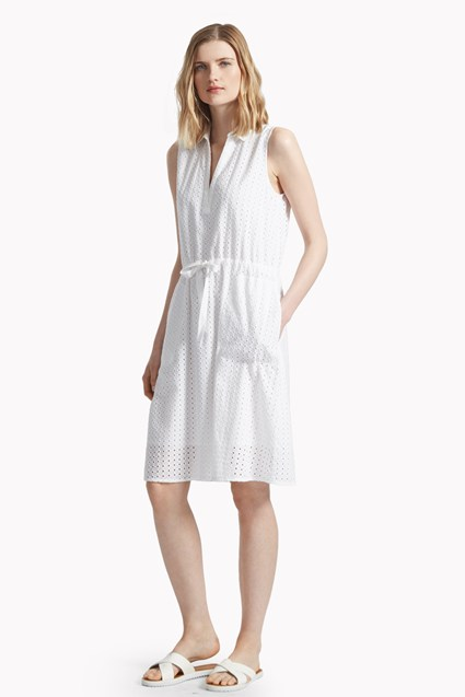 Whitby Embroidered Shirt Dress