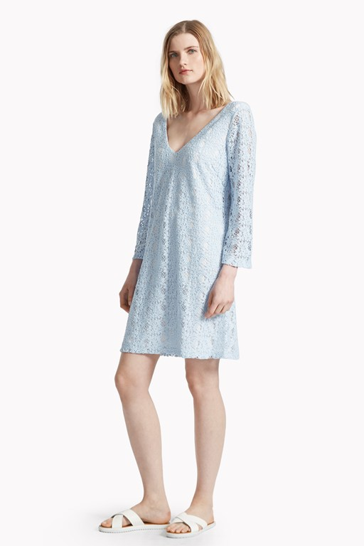 dandelion lace tunic dress
