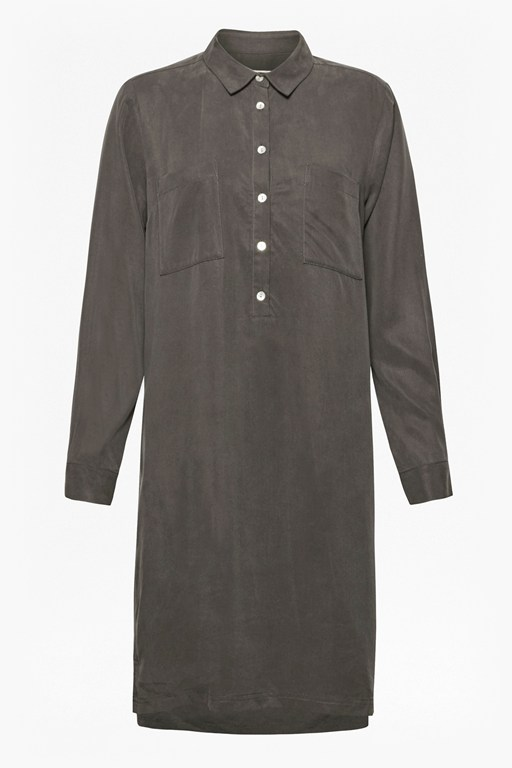 Complete the Look Bryony Tencel Tunic Shirt Dress