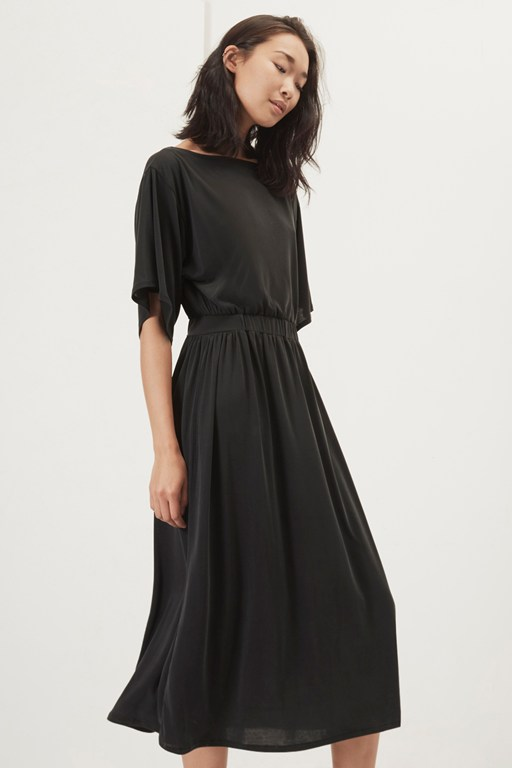 kimmy soft jersey elasticated waist dress