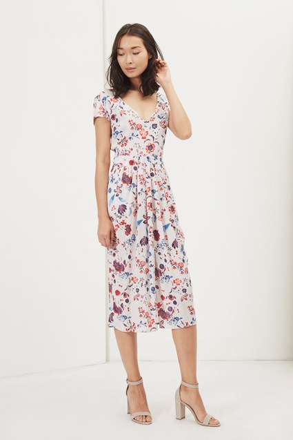 Faeryday Floral Tulip Skirt Dress