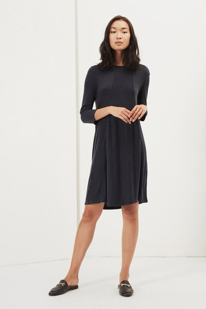 Callie Swing Jersey Dress