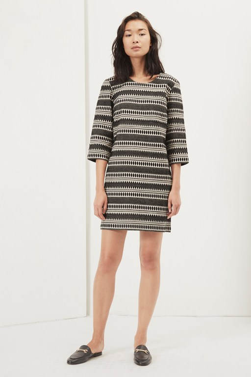 ula stitch shift dress