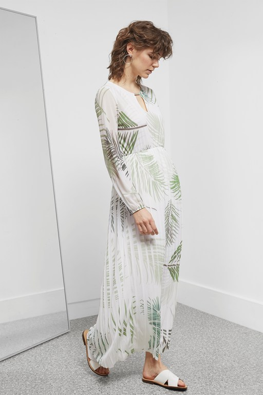 Complete the Look Palm Camo Breeze Maxi Dress