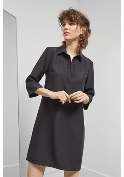 Deana Crepe Shift Dress
