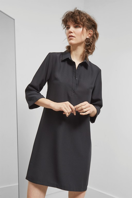 Complete the Look Deana Crepe Shift Dress