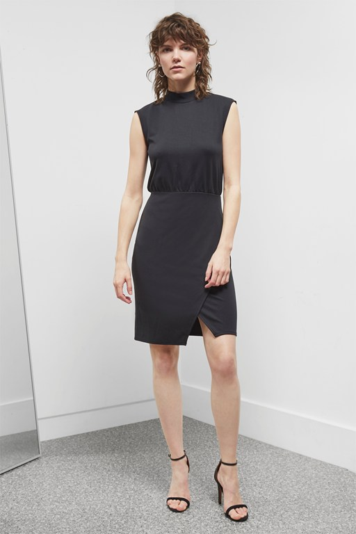 joelle jersey bow back dress
