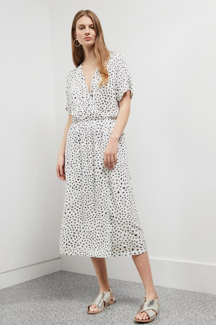 Summer Scribble Shirt Dress