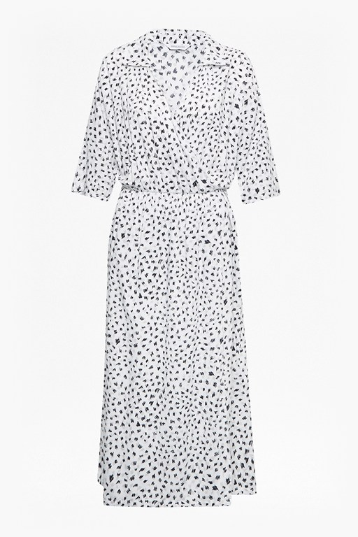 Complete the Look Summer Scribble Shirt Dress