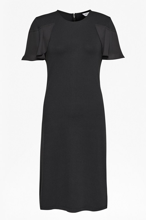 Complete the Look Joelle Jersey Frill Detail Dress