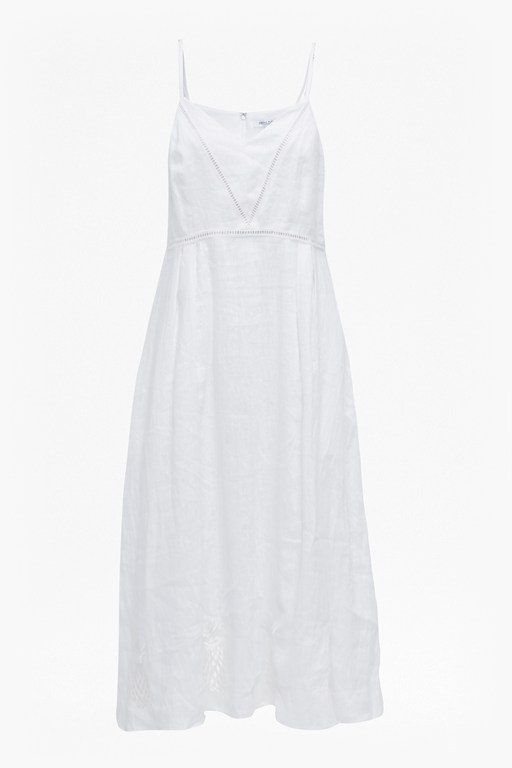 Complete the Look Lagos Linen Ladder Detail Dress