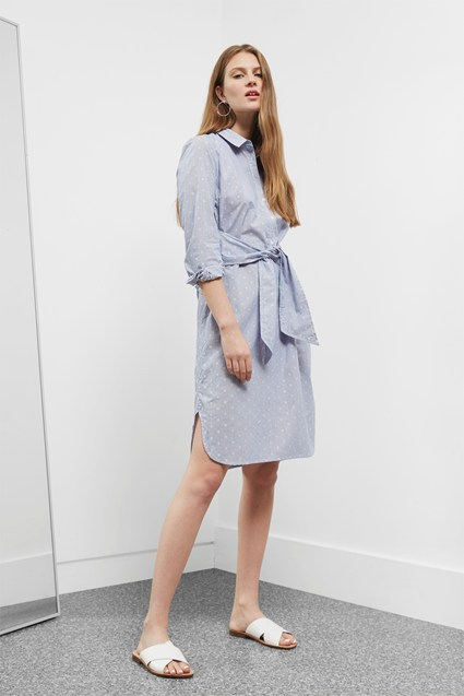 Hannah Summer Shirt Dress