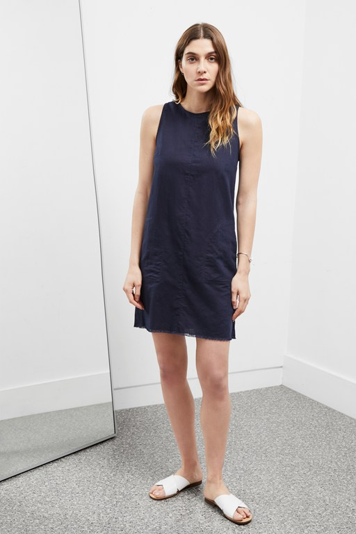 cotton linen dress