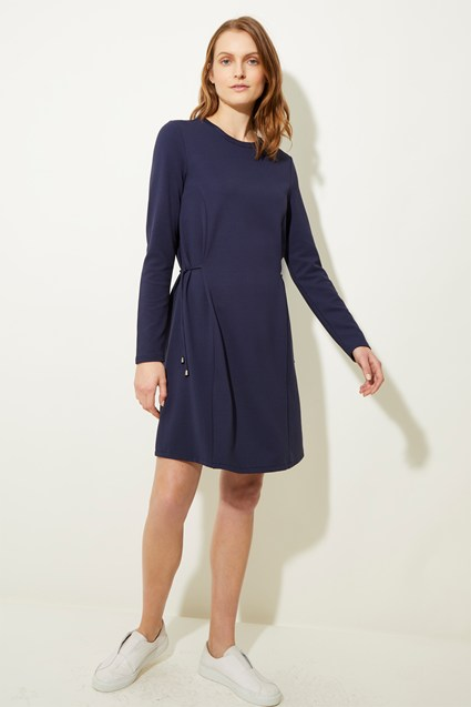 Seymour Jersey Crew Neck Dress