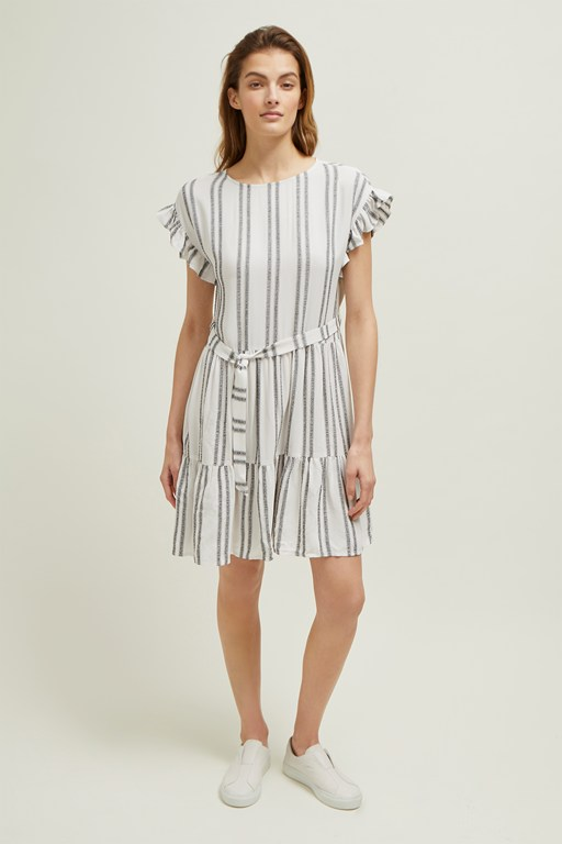 sahara striped dress