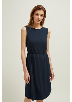 Ice Jersey Boat Neck Dress