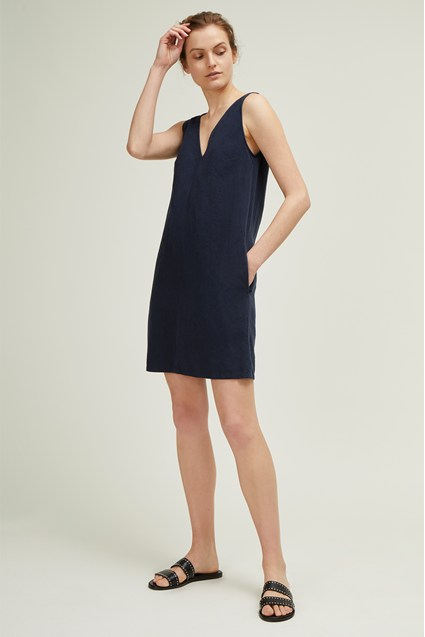 Dana Blend V Neck Dress
