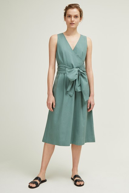Hampton Cotton V Neck Dress