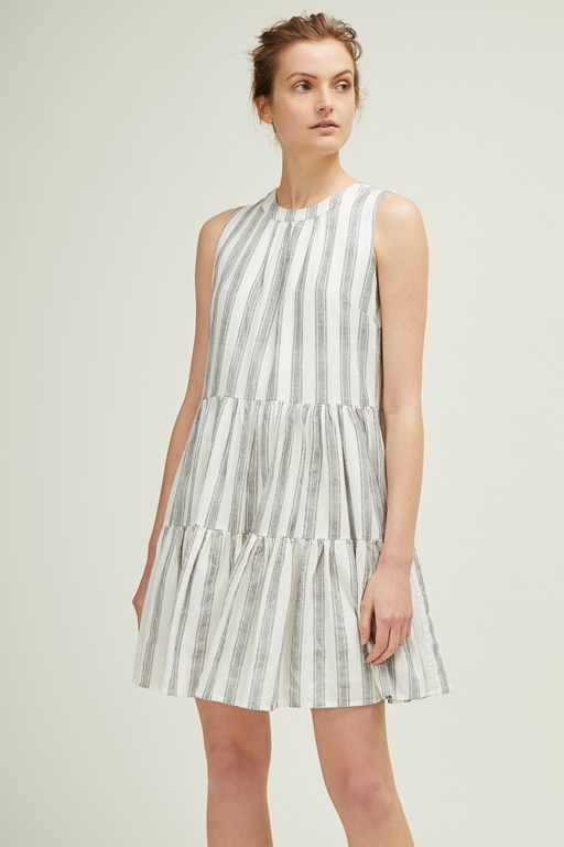 hollywood stripe dress